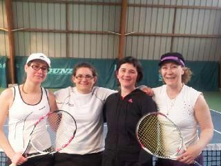 équipe 1 dames souché tennis
