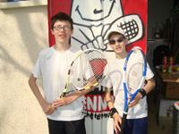 équipe 13/14 ans souché tennis