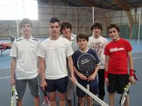 équipe 17/18 ans garçon souché tennis