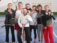 équipe 2 dames souché tennis