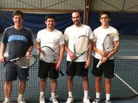 équipe 2 messieurs souché tennis