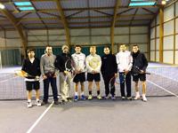 équipe 2 hommes souché tennis