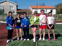 photo équipe souché tennis