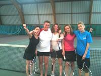 équipe 3 dames souché tennis