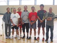 équipe vétérans + 45 ans souché tennis