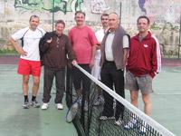 équipe vétérans +45 souché tennis