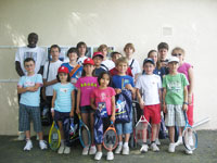 photo fête de école de tennis 2011