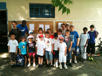 photo fête de école de tennis 2012