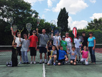 photo fête de école de tennis