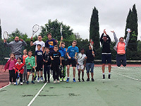 photo fête de école de tennis