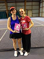 finalistes dames tournoi interne souché tennis